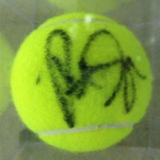Sampras, Pete Autographed Tennis Ball 2012