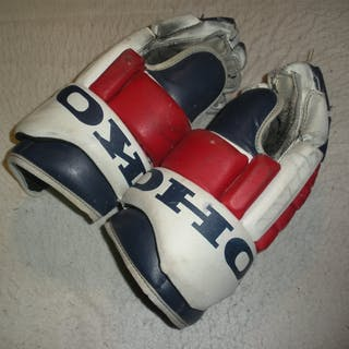 Lacroix, Eric Koho Gloves New York Rangers 2000-01 #28