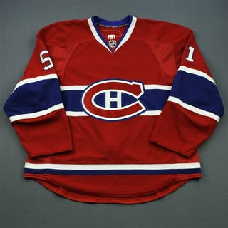 Palushaj, Aaron * Red Set 1 Montreal Canadiens 2010-11 #51 Size: 56