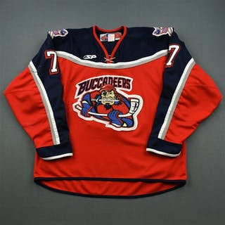 Palushaj, Aaron * Red Des Moines Buccaneers 2005-07 #7 Size: 56