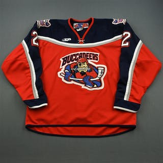 Petry, Jeff * Red Des Moines Buccaneers 2005-07 #2 Size: 58