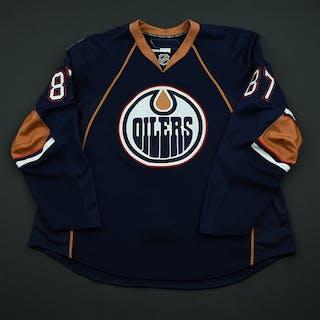 Pisano, Anthony Navy Set 1 - Training Camp Only Edmonton Oilers 2008-09
