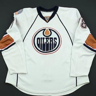 Pouliot, Marc White Set 3 Edmonton Oilers 2008-09 #78 Size: 56