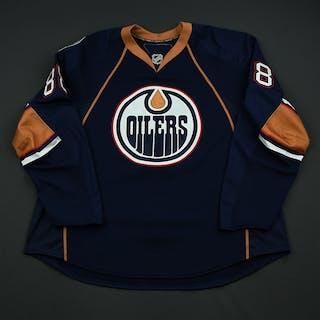 Schremp, Rob Navy Set 1 Edmonton Oilers 2008-09 #88 Size: 56