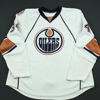 Pisani, Fernando White Set 2 Edmonton Oilers 2008-09 #34 Size: 58