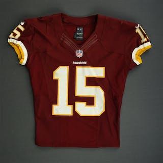 Morgan, Josh Burgundy Washington Redskins 2012 #15 Size: 44