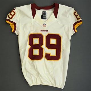 Moss, Santana White Washington Redskins 2012 #89 Size: 42