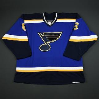 Weinrich, Eric * Blue 2nd Regular Season St. Louis Blues 2003-04 #58 Size: 58