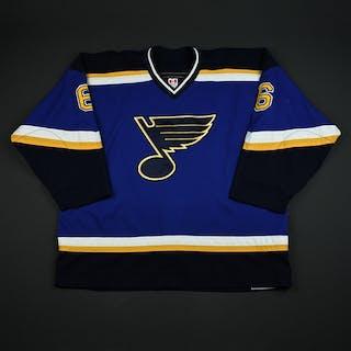 Weinrich, Eric * Blue 2nd Regular Season St. Louis Blues 2003-04 #6 Size: 58