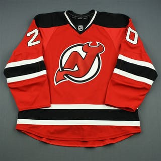 Carter, Ryan Red Set 2 New Jersey Devils 2013-14 #20 Size: 56