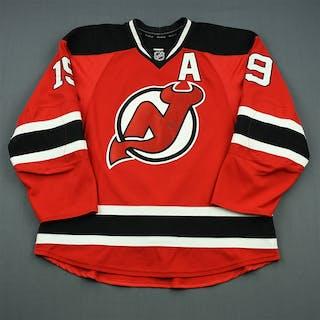 Zajac, Travis Red Set 2 w/A New Jersey Devils 2013-14 #19 Size: 56