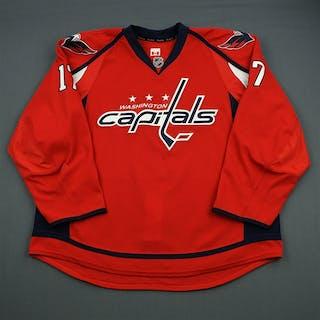 King, D.J. Red Set 1 Washington Capitals 2011-12 #17 Size: 58+