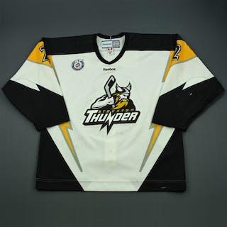 DeHart, Tony White Set 1 Stockton Thunder 2012-13 #2 Size: 56