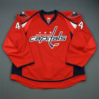 Hamrlik, Roman Red Set 1 Washington Capitals 2012-13 #44 Size: 58