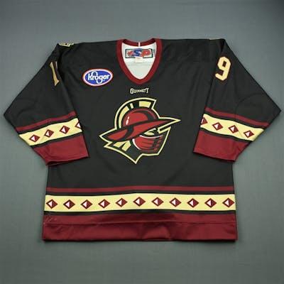 Helfrich, Tyler Black Set 1 Gwinnett Gladiators 2011-12 #19 Size: 54