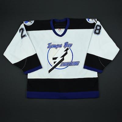 Keefe, Sheldon * White 2nd Regular Season Tampa Bay Lightning 2002-03