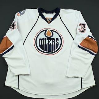 Strudwick, Jason White Set 3 Edmonton Oilers 2008-09 #43 Size: 58+