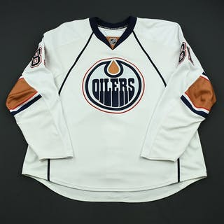 Taylor, Jake White Set 1 - Preseason Only Edmonton Oilers 2008-09 #81 Size: 58