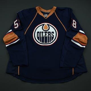 Trukhno, Vyacheslav Navy Set 1 - Preseason Only Edmonton Oilers 2008-09