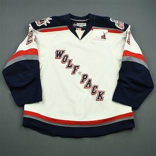 Sanguinetti, Bobby White Set 2 Hartford Wolf Pack 2008-09 #21 Size: 56
