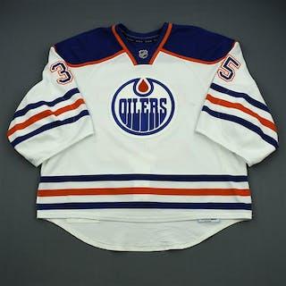 Khabibulin, Nikolai White Retro Set 1 Edmonton Oilers 2012-13 #35 Size: 58G