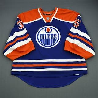 Khabibulin, Nikolai Blue Retro Set 1 Edmonton Oilers 2012-13 #35 Size: 58G