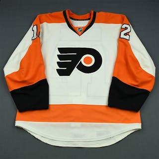 Raffl, Michael White Set 3 / Playoffs Philadelphia Flyers 2013-14 #12 Size: 54