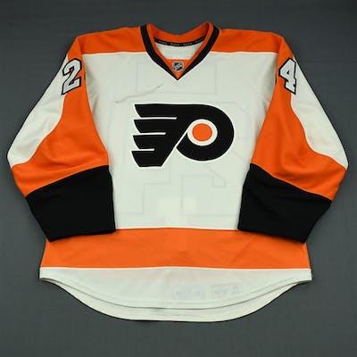 Read, Matt White Set 2 Philadelphia Flyers 2013-14 #24 Size: 52