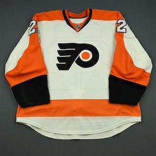 Schenn, Luke White Set 2 Philadelphia Flyers 2013-14 #22 Size: 58