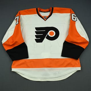 VandeVelde, Chris White Set 2 Philadelphia Flyers 2013-14 #76 Size: 56