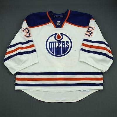 Khabibulin, Nikolai White Retro Set 2 Edmonton Oilers 2012-13 #35 Size: 58G