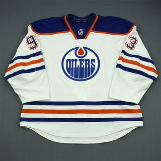 Nugent-Hopkins, Ryan White Retro Set 2 Edmonton Oilers 2012-13 #93 Size: 56