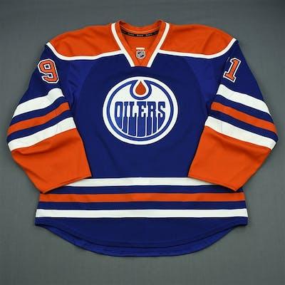 Paajarvi, Magnus Blue Retro Set 2 Edmonton Oilers 2012-13 #91 Size: 56