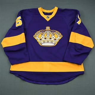 Vey, Linden Purple Vintage Los Angeles Kings 2013-14 #57 Size: 56