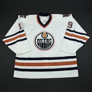 Reasoner, Marty * White Preseason Edmonton Oilers 2003-04 #19 Size: 58