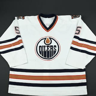 Semenov, Alexei * White 2nd Regular Season Edmonton Oilers 2002-03 #5 Size: 58