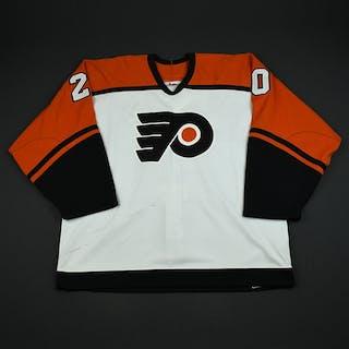 Somik, Radovan * White Preseason Philadelphia Flyers 2003-04 #20 Size: 56