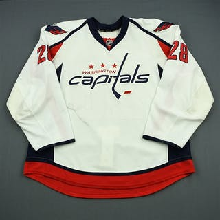 Semin, Alexander White Set 1 Washington Capitals 2011-12 #28 Size: 58