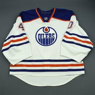 Dubnyk, Devan White Retro Set 2 Edmonton Oilers 2012-13 #40 Size: 58G