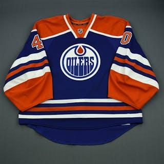 Dubnyk, Devan Blue Retro Set 2 Edmonton Oilers 2012-13 #40 Size: 58G