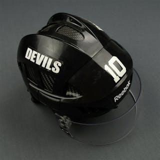 Harrold, Peter Black Reebok Helmet with Oakley Shield and Finals Sticker
