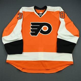 Lauridsen, Oliver Orange Set 1 - Game-Issued (GI) Philadelphia Flyers