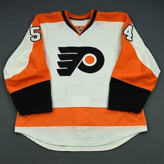Mangene, Matt White Set 1 - Game-Issued (GI) Philadelphia Flyers 2013-14