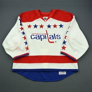 Varlamov, Semyon * White - Turn Back the Clock Jersey Washington Capitals