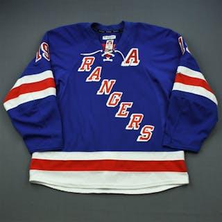 Richards, Brad * Blue w/A - Photo-Matched New York Rangers 2013-14 #19 Size: 56