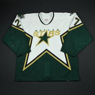 Malhotra, Manny * White Playoffs Dallas Stars 2002-03 #27 Size: 56