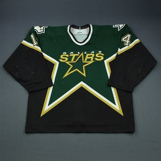 Sim, Jon * Green Set 2 Dallas Stars 2001-02 #14 Size: 56
