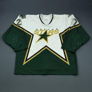 Van Allen, Shaun * White Set 2 Dallas Stars 2000-01 #27 Size: 58