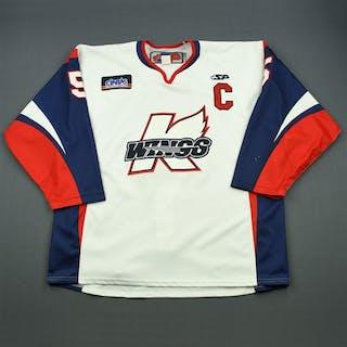 O'Neill, Wes White Set 1 w/C Kalamazoo Wings 2011-12 #5 Size:58