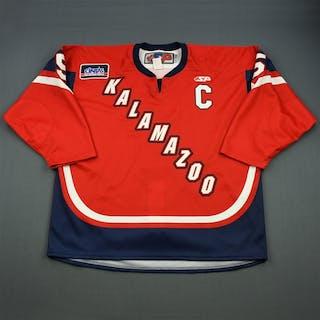 O'Neill, Wes Red Set 1 w/C Kalamazoo Wings 2011-12 #5 Size:58